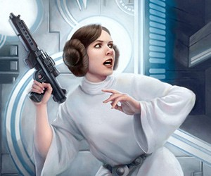 Star Wars Illustrations by Tony Foti