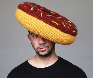 Amazing Crocheted Food Hats by Phil Ferguson