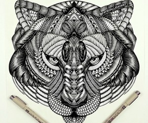Amazing Animal Doodles Created by Faye Halliday
