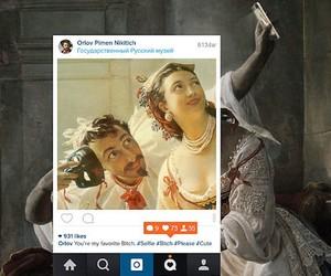 Vintage Greek Art Reimagined as Instagram Posts
