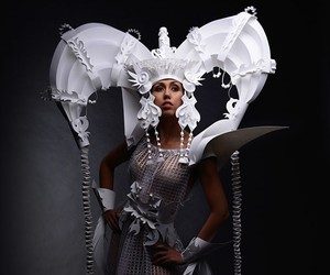 Dresses & Accessories by Paper Artist Asyl Kozina