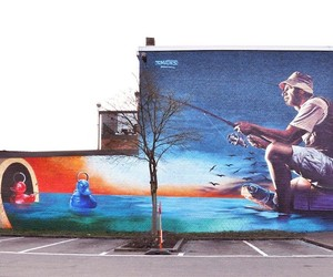 Hyper-realistic Mural by Belgian Artist Smates