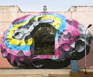 New Mural by Street Artists Nevercrew in India
