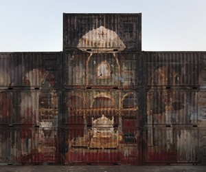 Mirage – Excellent New Mural by Borondo in India