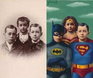 """""""Vintage Heroes"""" by Artist Alex Gross"""