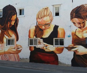 Is this Modern Society? - Mural by Jupiter Fab