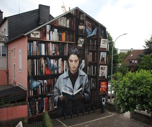 Awesome Mural by French Street Artist Mantra