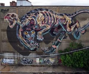 """Master Battlecat"" by Street Artist Nychos"