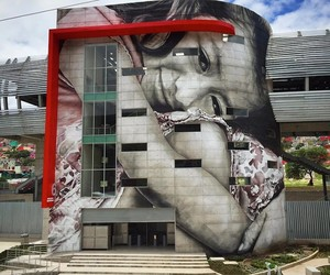 Mural by Street Artist Guido Van Helten in Mexico