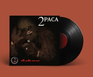 Album Covers Reimagined with Star Wars Puns