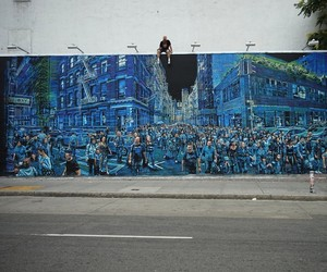 Awesome Mural by Artist Logan Hicks in NYC