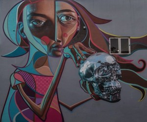 Awesome Mural by Street Artists Belin & Bikismo