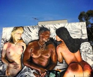 """""""Famous"""" - Kanye West Mural in Melbourne"""