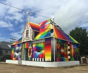 """Universal Chapel"" by Street Artist Okuda"