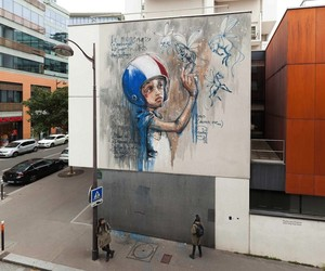 """""""Message For The Children"""" by Herakut in Paris"""