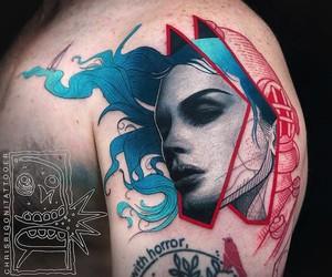 Vibrant Tattoos by Artist Chris Rigoni