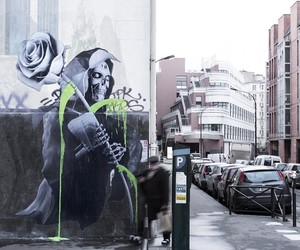 """love After All"" by Artist Ludo in Paris"