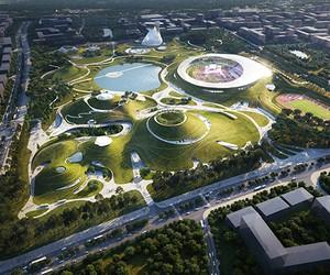 MAD Architects' Quzhou Sports Campus,China