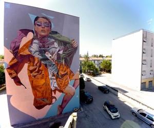 Mural by Street Art-Duo TelmoMiel in Italy