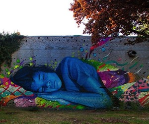 Technicolor Dream: Photorealistic Mural by Lonac