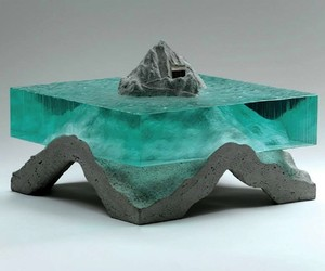 Sculptures Made Out of Layered Glass