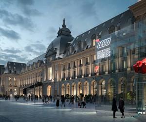Palais du Commerce, Rennes, France / MVRDV