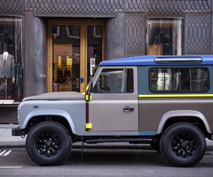 Tailor-Made Land Rover Defender For Paul Smith