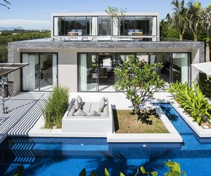 Naman Residences Villa B Type by MIA Design Studio