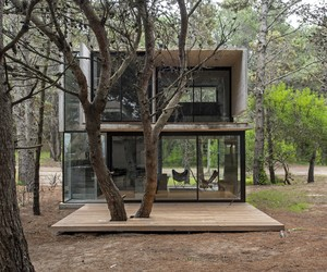Concrete Holiday Home by Luciano Kruk, Argentina