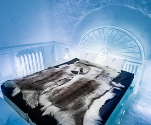 A Look Inside the new ICEHOTEL 365 in Sweden