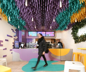 Tealive Store in Melbourne by Fretard Design