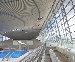London Aquatics Centre opens to the Public