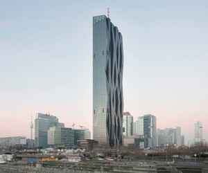Dominique Perrault inaugurates the DC Tower