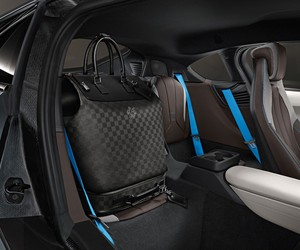 Louis Vuitton creates custom luggage for the BMW