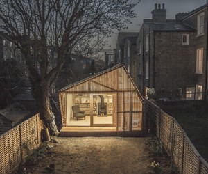 Writer's Shed in London by Weston Surman & Deane