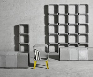 ZHI AND KOU CEMENT FURNISHINGS BY BENTU DESIGN