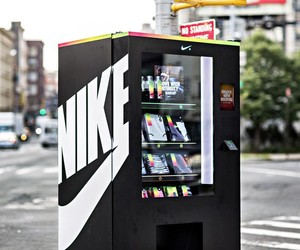 Nike FuelBox Vending Machine