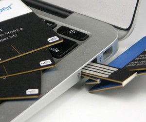 Smart Business Card with built-in USB Drive