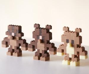 Chocolate Lego Bricks by Akihito Mizuuchi