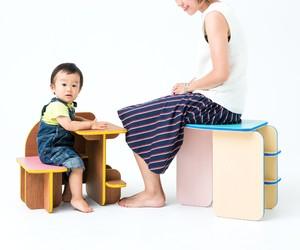 Multi-purpose Dice Furniture by Torafu Architects