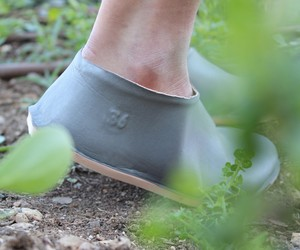 Vacuum Forming Shoe by Lou Moria