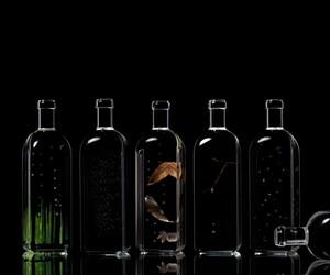 Rain Bottle installation by Nendo