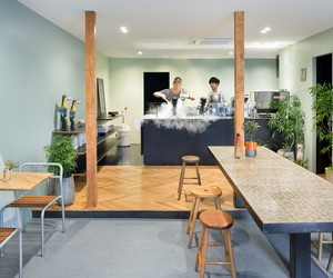 Snow Picnic Ice Cream Store by Torafu Architects