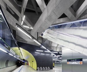 Budapest Metro Twin Stations by Spora Architects