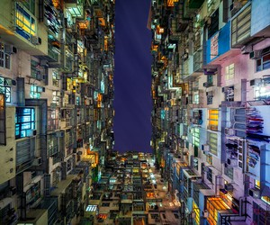 The Stacked Urban Architecture of Hong Kong