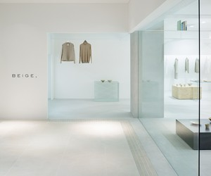 Beige concept store in Tokyo by Nendo