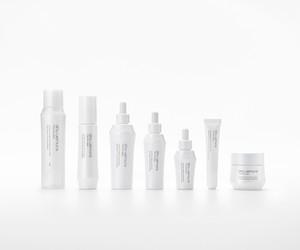 TSUYA skin packaging by Nendo for shu uemura