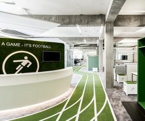 Onefootball Headquarters by TKEZ, Berlin