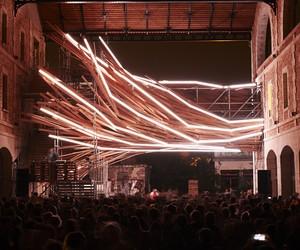 Vortex Light Sculpture by 1024 Architecture