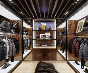Moncler Boutique in Le Marais, Paris